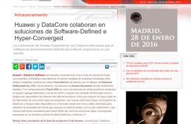 Datacore, RedesTelecom, Marzo 2015 - Agencia de comunicación Barcelona, Agencia de comunicación España.