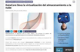 Datacore, SiliconWeek, Junio 2012 - Agencia de comunicación Barcelona, Agencia de comunicación España.