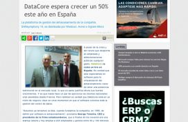 Datacore, Channel Partner, Mayo 2014 - Agencia de comunicación Barcelona, Agencia de comunicación España.