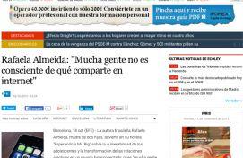 Rafaela Almeida, El Economista, Octubre 2015 - Agencia de comunicación Barcelona, Agencia de comunicación España.