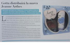 Jeanne Arthes, Perfumería, August 2016 - Communication and PR Agency Barcelona.