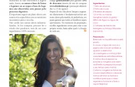 Drink6, Revista Zen, Model Kelly Baron, August 2016 - Communication Agency Barcelona