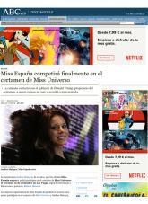 Andrea Huisgen, ABC, Noviembre 2012 - Agencia de comunicación Barcelona, Agencia de comunicación España.