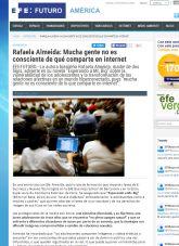 Rafaela Almeida, EFE, Noviembre 2015 - Agencia de comunicación Barcelona, Agencia de comunicación España.