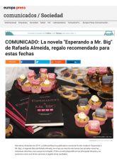 Rafaela Almeida, Europa Press, Diciembre 2014 - Agencia de comunicación Barcelona, Agencia de comunicación España.