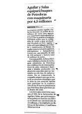 Aguilar y Salas, La Vanguardia, Agosto 2014 - Agencia de comunicación Barcelona, Agencia de comunicación España.