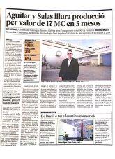 Aguilar y Salas, El Punt, Noviembre 2014 - Agencia de comunicación Barcelona, Agencia de comunicación España.