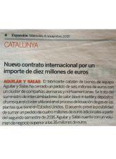 Aguilar y Salas, Expansión, Noviembre 2015 - Agencia de comunicación Barcelona, Agencia de comunicación España.